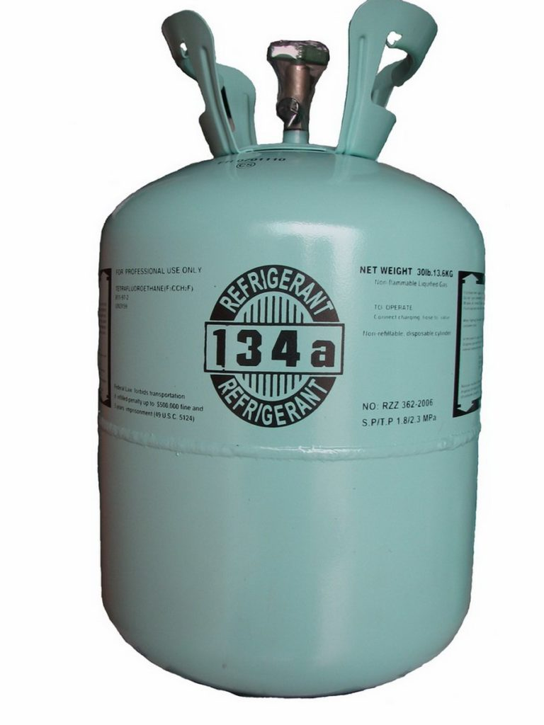 R-134A 30 pound cylinder jug.