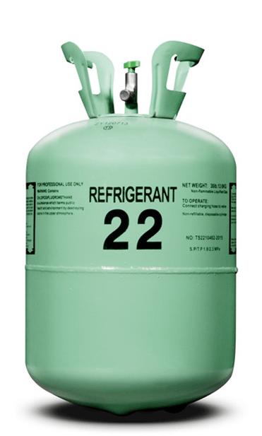 R-22 30 Pound Refrigerant Cylinder
