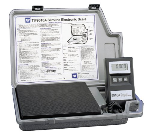 Product Review: Robinair TIF9010A Slimline Refrigerant Electronic Scale