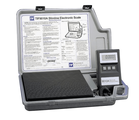 Product Review: Robinair TIF9010A Slimline Refrigerant Electronic Charging/Recover Scale
