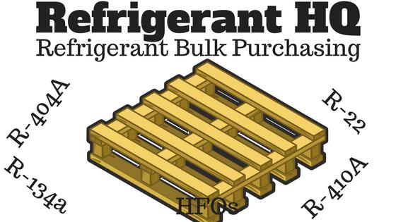 refrigerant 2018 bulk pallet purchasing refrigerant hq