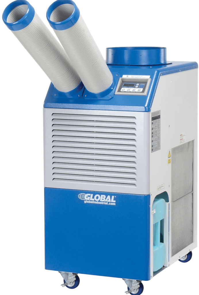 Industrial Portable AC, 2 Ton w/ Cold Air Nozzles 21,000 BTU
