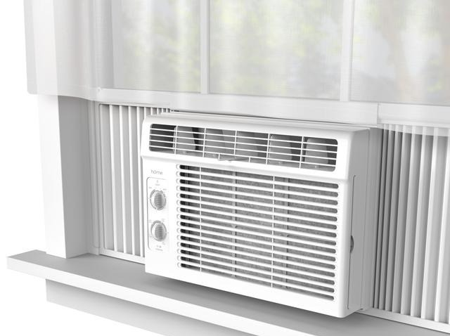 hOme Labs 5,000 BTU Window Air Conditioner