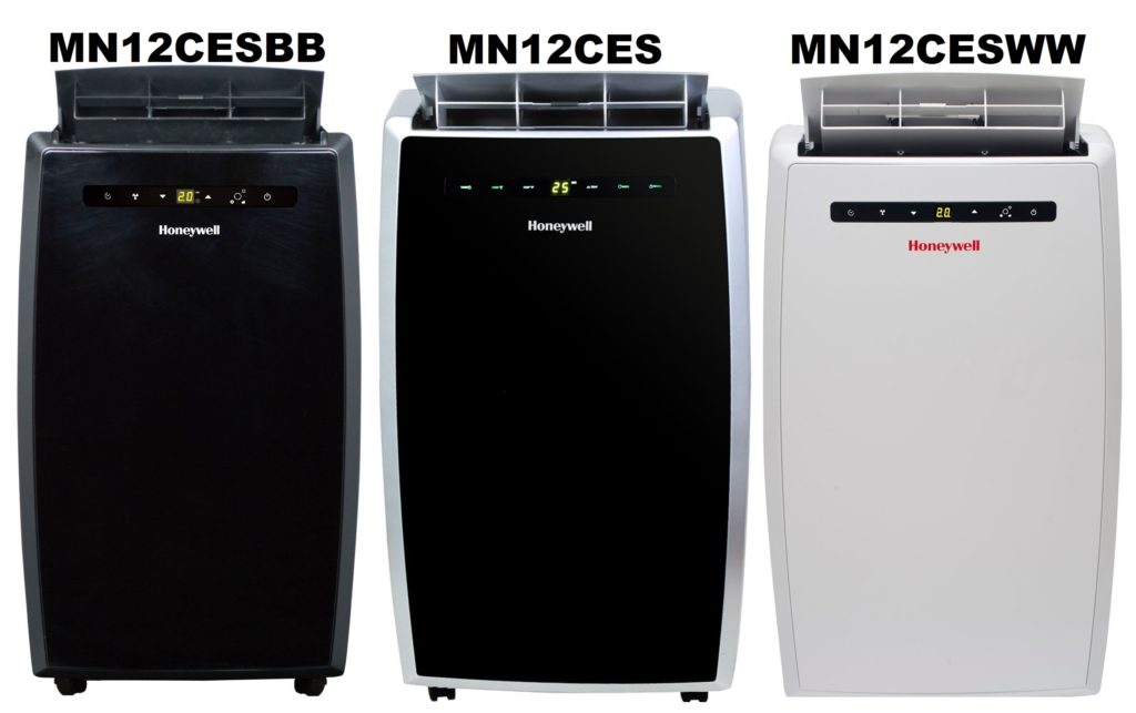 Honeywell MN12CES, MN12CESWW, & MN12CESBB Portable Air Conditioner