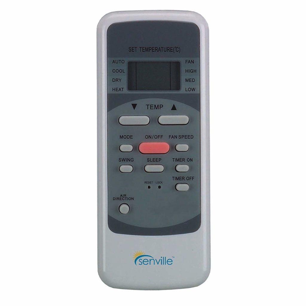 Senville Air Conditioner Remote