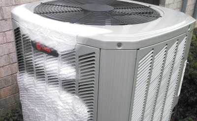 Frozen Air Conditioner
