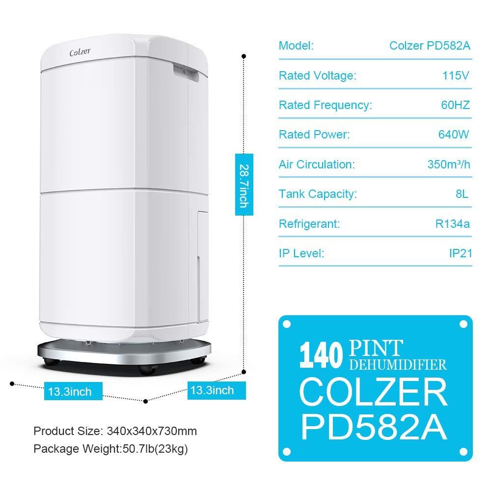 Colzer 140 Pint Dehumidifier