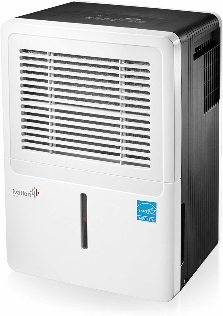 Ivation 30, 50, & 70 Pint Energy Star Dehumidifier